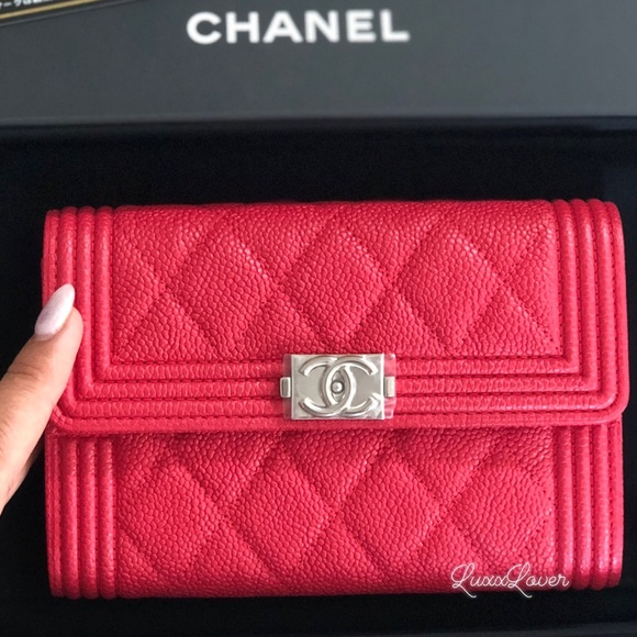 ada4e0a06fb3 CHANEL Bags | Soldauth Brand New 18c Boy Wallet Complete Set | Poshmark